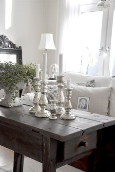 candlesticks 7 coffee table