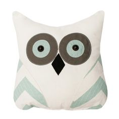 Tootsie Owl Pillow Gray, $28, now featured on Fab.