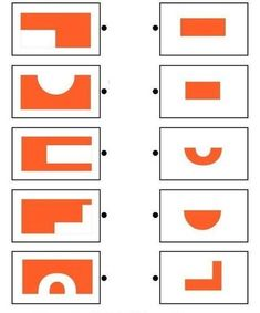 Free Worksheets for Pre K, Kindergarten, and Grade Visual Perceptual Activities, Educational Activities, Preschool Activities, Preschool Math, Kindergarten, Math Challenge, Brain Gym, Math For Kids, Thinking Skills