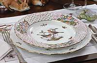 Herend Rothschild Bird Fine China