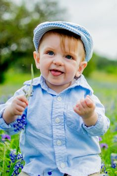 Baby in the Texas Bluebonnets Photography Photos, Children Photography, Texas Bluebonnets, Blue Bonnets, News, Face, Collection, Style, Fashion