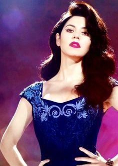 HAIR GOAL. I love Marina.