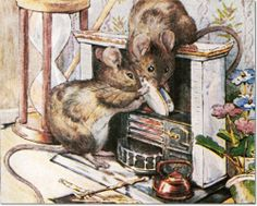 The Tale of Two Bad Mice - 1904 - Mice Put Fish into Fireplace