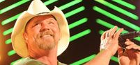 Hoping Trace Adkins will still be there after his house fire but certainly understandable if he has to cancel.