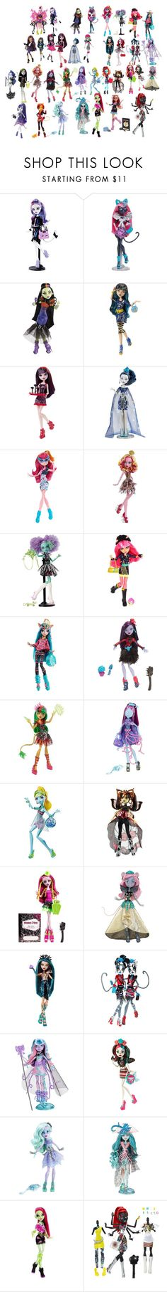 """""""Monsters I need to do"""" by ami-kesinger on Polyvore featuring GALA and Sirena"""