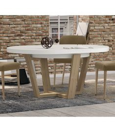 Las 8 mejores imágenes de mesa redonda extensible | Mesa redonda ...