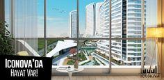 Hayatla tasarlanan geniş daire seçenekleri ile Gaziantep'in en güzel projesi... #iconova