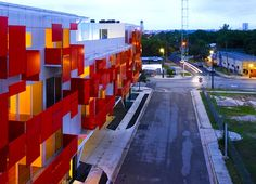 The East Village Mixed-Use Development by Bercy Chen Studio is lo-tech but super sustainable