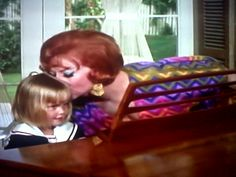 Kisses with Tabitha Endora Bewitched, Erin Murphy, Agnes Moorehead, Old Hollywood, Kisses, Actresses, Memories, Beautiful, Female Actresses