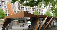 austrian bus shelters | Aachen Bus Shelter | Urban Design + Urban Space | Pinterest