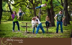 best family picture EVER!!!!  my sister is a genius.