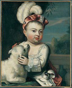 """John Greenleaf"" by John Singleton Copley (1753-1754) at the Metropolitan Museum of Art, New York"