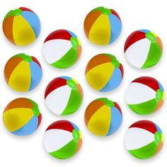 12-Pack Beach Balls