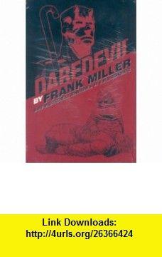 Daredevil by Frank Miller Omnibus Companion (9780785126768) Frank Miller, Bill Sienkiewicz, John Romita Jr. , ISBN-10: 0785126767  , ISBN-13: 978-0785126768 ,  , tutorials , pdf , ebook , torrent , downloads , rapidshare , filesonic , hotfile , megaupload , fileserve