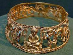 Scythian golden tiara. 3rd century BC.