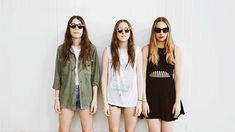 Laneway moving portraits: Haim, Lorde, Chvrches, Run The Jewels, The Jezabels (click through to see them move)
