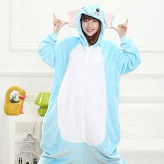 http://rubies.work/0518-sapphire-ring/ New Adult Pajamas Cosplay Costume Animal Onesie Elephant Sleepwear Adult animal pajamas Halloween Pajama onesies for adults