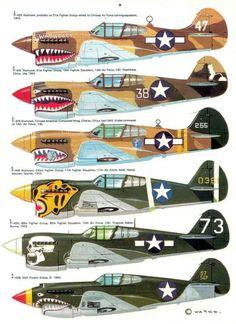 "geek4daleks:  ""P-40 Warhawk  """