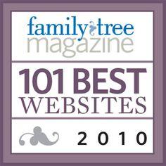 101 Best Genealogy Websites of 2010 - Family Tree Magazine