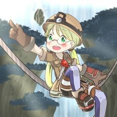Riko - made in abyss by alienitynera
