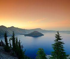 America's Most Scenic Waterside Drives: Crater Lake Rim Drive, Oregon