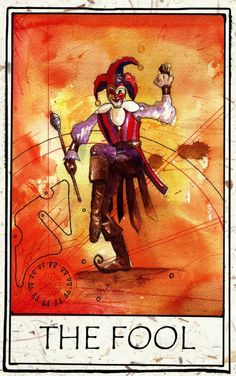 0 - The Fool (Tarot Card) The Fool Tarot Card. #thefool #tarot #0 †he fool Tarot