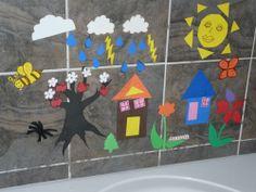 Craft Foam Bath Tub Toys! | Our Homeschool Journey
