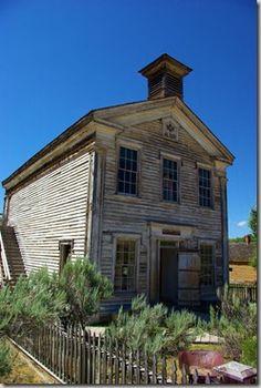 Bannack Masonic Lodge and School House