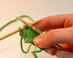 Knitting Backwards -- I would really like to master this, but as a continental knitter, I would have to learn to THROW with left, or pick with my right.