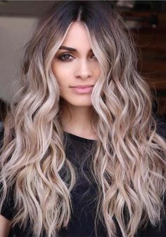 Balayage and ombre hair. Hair Color Ideas & Trends for - Long HairHairstyles hair ideas. Balayage and ombre hair. Hair Color Ideas & Trends for Stylish and attractive. Perfect Hair Color, Hot Hair Colors, Ombre Hair Color, Hair Color Balayage, Cool Hair Color, Balayage Highlights, Auburn Balayage, Caramel Balayage, Long Ombre Hair