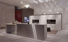 Glass cupboard doors to enhance the design of the kitchen  #Ak04 #glass #ArritalKitchen #design
