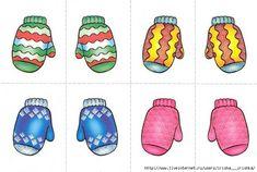 Welke kledingstukken horen bij elkaar? - Winter (4)