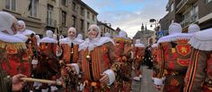 Carnival of Binche, Belgium \\ I want to go to Carnival celebrations all over the world! Here's EIGHT.