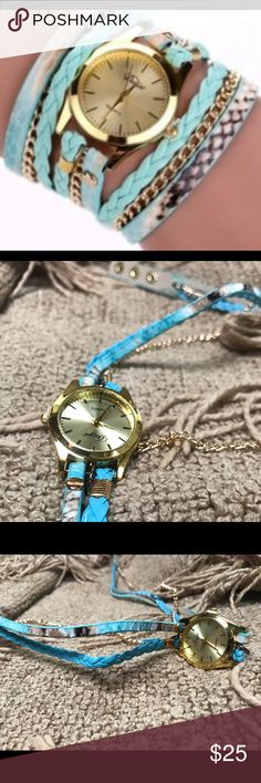⛔️SALE⛔️ Fashionable Watchlet ❌ BRAND NEW ❌ GREAT DESIGN  ❌ MADE FOR ANY OCCASION ❌ FASHION STATEMENT ❌ AMAZING LOOK ❌ EASY WEAR ❌ STYLISH FINISH   ‼️PLEASE PURCHASE WITH CONFIDENCE‼️ Jewelry Bracelets