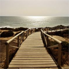 Playa de la Barrosa (Cádiz, Spain) by Nacho Iglesias, via Flickr