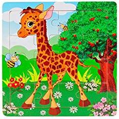 Generic Wooden Kids 16 Piece Jigsaw Toys For Children Education And Learning Puzzles Toys. Package Include: 1 set Wooden Kids 16 Piece Jigsaw Toys For Children Education And Learning Puzzles Toys (without retail package). Wooden Jigsaw, Wooden Puzzles, Wooden Toys, Educational Games For Kids, Educational Toys, Toddler Toys, Kids Toys, Pet Toys, Baby Toys