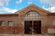 Old Factory Door by martonbakos, via Flickr