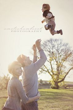 Does anyone else get nervous when their husbands sling their children up in the air?