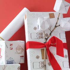 3 free printable wrapping papers