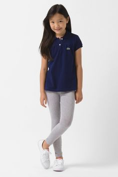 #Lacoste Girl's Stretch Jersey Legging. I love this!!!