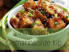 Snelle Aziatische kip marinade