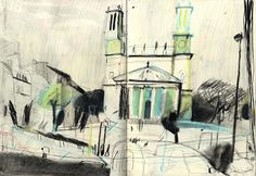 Yann Kebbi Love the intensity of this drawing!