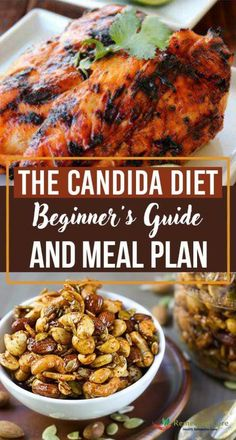 The Candida Diet- Beginner's Guide and Meal Plan #fastdiet Candida Diet Food List, Anti Candida Diet, Candida Diet Recipes, Ketogenic Diet Meal Plan, Diet Meal Plans, Paleo Diet, Candida Cleanse, Candida Diet Breakfast, Keto Meal