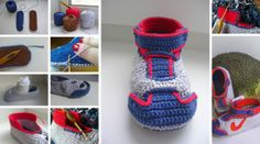 Wonderful DIY Crochet Slippers and Mini Heart with Free Pattern