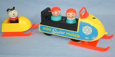 Fisher Price snowmobile