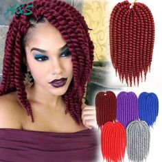 Crochet Braids Equipment : available in stock 12roots/pack ombre braiding hair crochet braids ...
