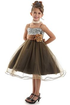 Browse large selection of flower girl dresses at Girls Dress Line. Can get affordable flower girl dresses considering colors, styles, fabrics, season, and budgets. Girls Short Dresses, Toddler Flower Girl Dresses, Girls Party Dress, Little Girl Dresses, Trendy Dresses, Animal Print Party Dresses, Sequin Mesh Dress, Brown Dress, Pageant Dresses