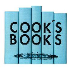 Teal Cook's Books Set // whitesmercantile.com
