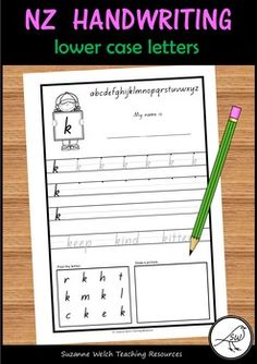New Zealand Handwriting – lower case alphabet a-z School Resources, Classroom Resources, Teaching Handwriting, Printing Practice, Ministry Of Education, Alphabet Cards, Spelling Words, Classroom Environment, Activity Sheets