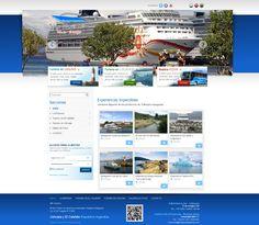 Tolkeyen Patagonia - Agencia de Turismo. El Calafate y Ushuaia. Diseño y desarrollo Web administrable 2.0. Área para clientes. Generación de secciones, productos, promociones, paquetes, galería de fotos, videos, destacados, banners, buscador, formularios de consultas, funciones redes sociales, etc.